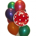 BB0029-xoxoxo balloon bouquet