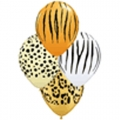 BB07-singapore 12 inch jungle print balloons