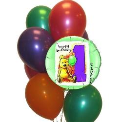 BBN10-singapore 1st birthday balloons