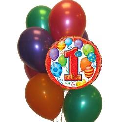 BBN16-singapore 1st birthday balloons