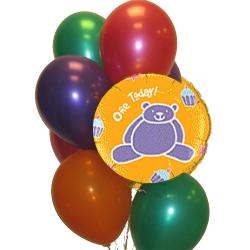 BBN20-singapore 1st birthday balloons