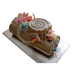 GF0047-christmas logcake