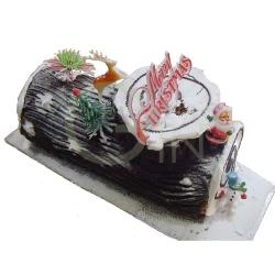 GF0048-christmas logcake