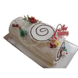 GF0050-christmas logcake