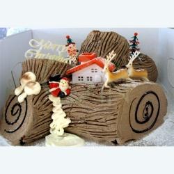 GF0051-christmas logcake