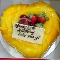 GF0058-mango heart cake