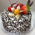 GF0323-300gm cake chocolate chip cake