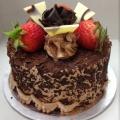 GF0332-300gm cake chocolate cake