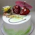 GF0331-300gm cake couple cake