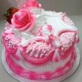 GF0327-300gm cake pink cake