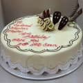GF0344-white chocolate birthday cake