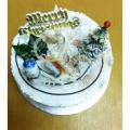 GF002XMAS Min Log Cake