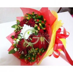 HB0005-flowers mixed bouquet