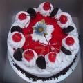 OC0090V-Vegetarian Eggless Blackforest Cake