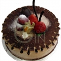 OC0156-Chocolate Truffle Birthday Cake