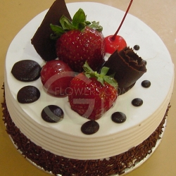 OC0162-300gm Dreamy M Birthday Cake