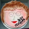 1-OC0243-I Love Mummy Cake Mother Cake