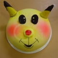 2-OC0255- I Love Pokemon Pikachu Cake