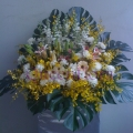 QF0867-wreath flowers arrangement