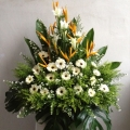 QF0872-wreath flowers arrangement